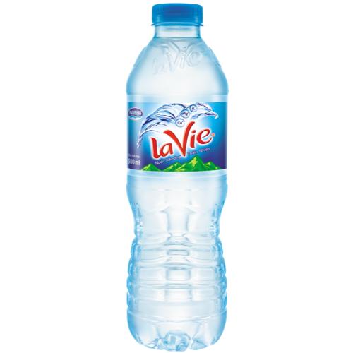 Nước suối lavie 500ml là sản phẩm được nhiều người ưa thích