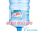 Giao nước uống Lavie quận Bình Thạnh